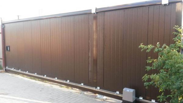 Сдвижные ворота в Самаре