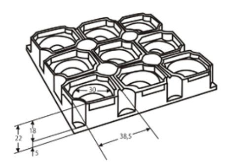 Грязезащитные резиновые коврики Гамми