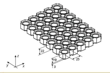 Резиновые коврики Квадрофлекс