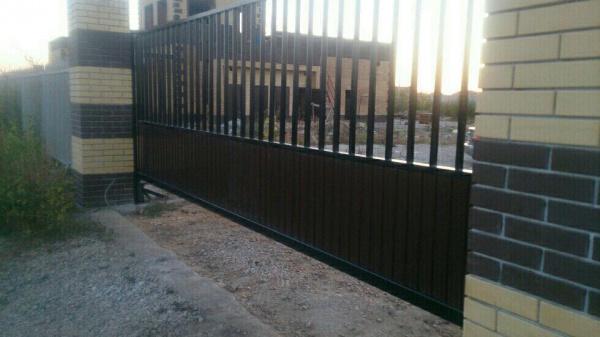 Откатные ворота в Самаре Красный Яр