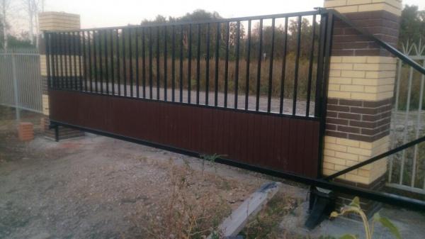 Откатные ворота в Самаре